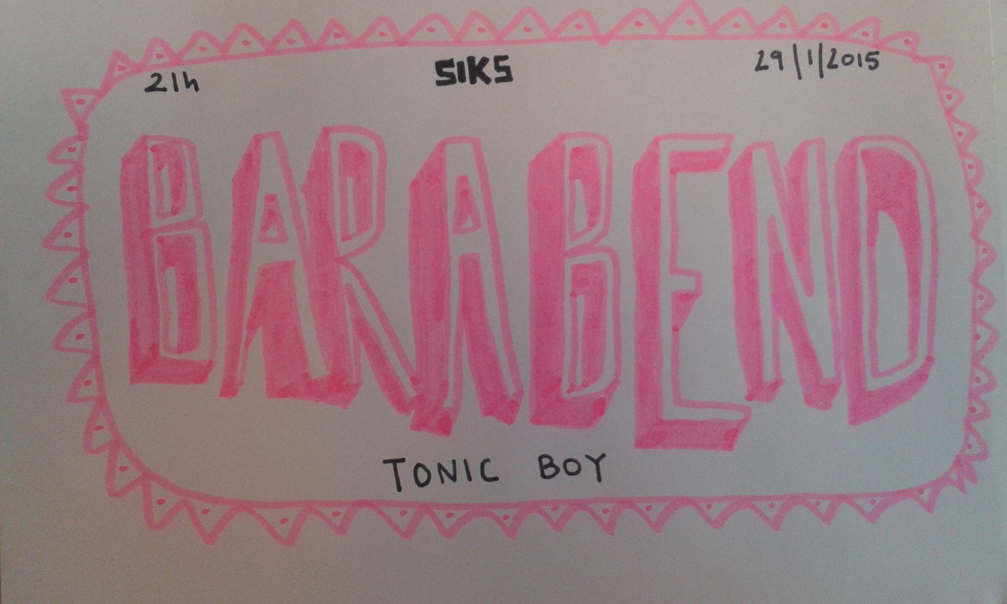 Barabend TonicBoy