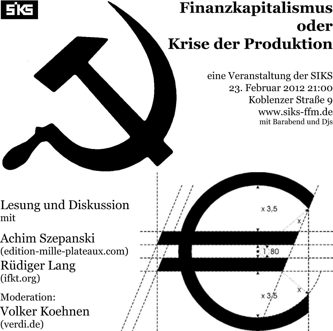 Finanzkapitalismus