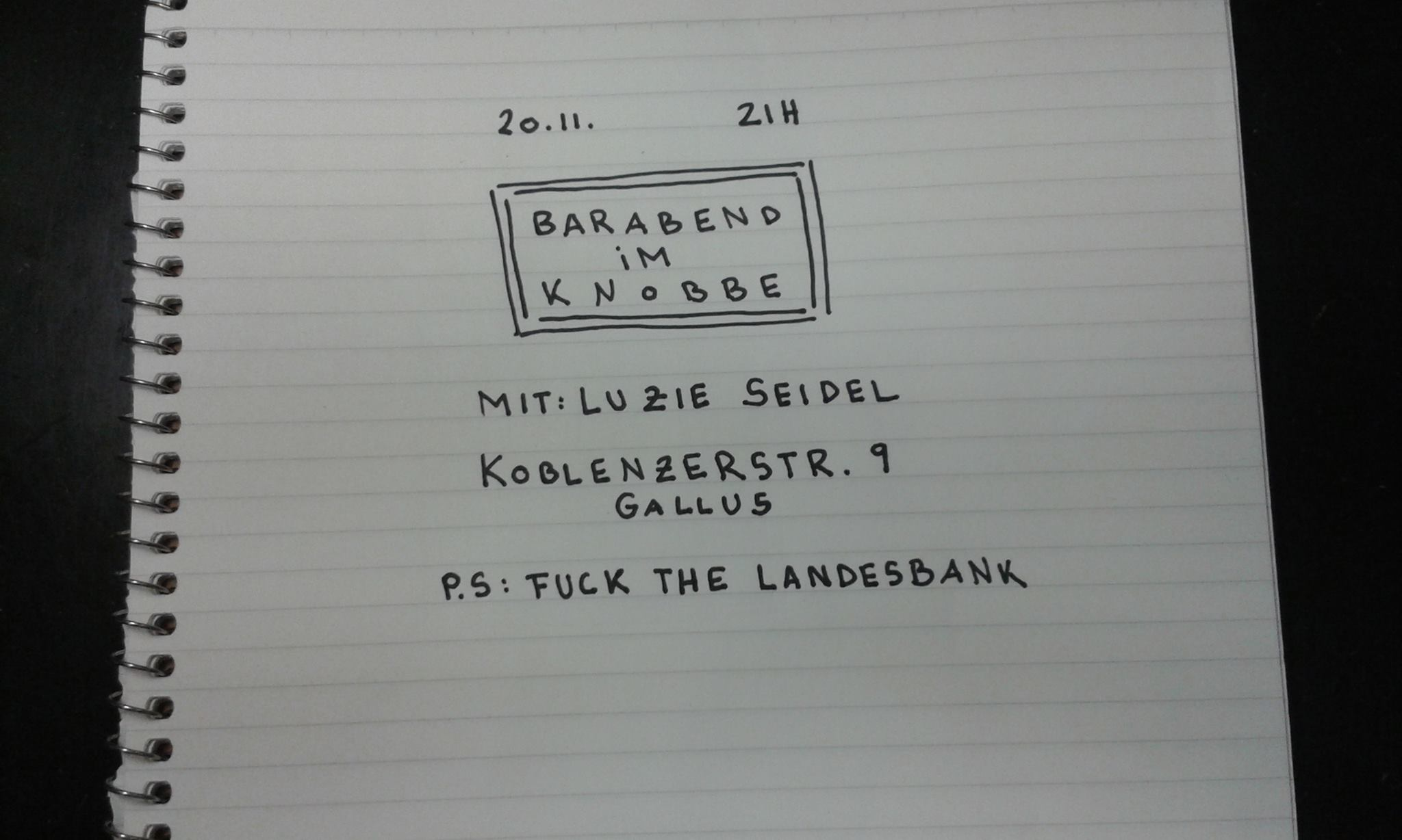 Fuck the Landes Bank