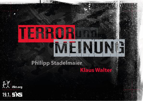 Terror und Meinung
