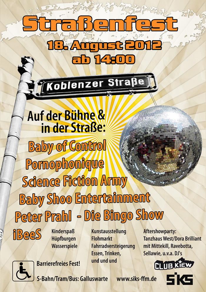 Straßenfest Koblenzer Straße 2012