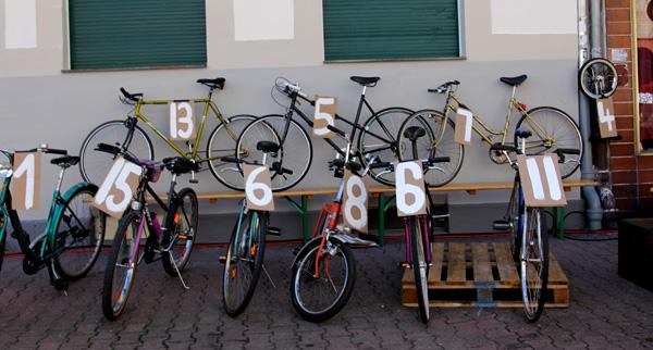 Fahrradversteigerung